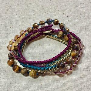 Chloe + Isabel Multi-wrap Bead Bracelet